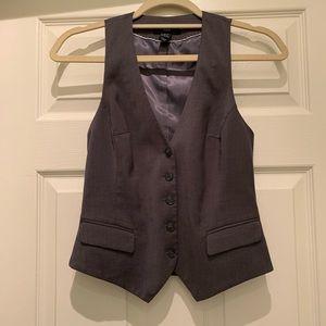 H&M gray vest
